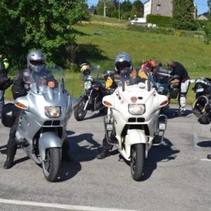 Balade motos des pompiers de Gedinne