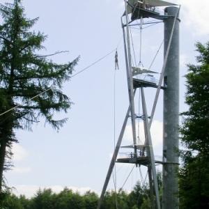 Du monde pour le death-ride, a 45 m de haut !!