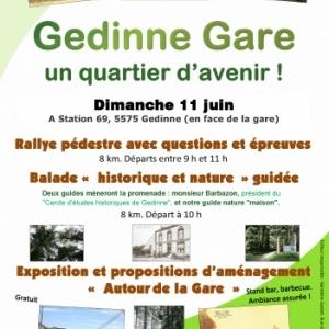 Gedinne Gare, un quartier d'avenir !