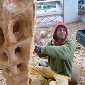 Christophe Deman sculpteur a Gedinne