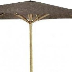 Parasol avec mat central