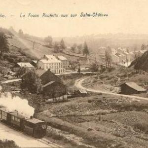 Le tram en 1925 a Salmchateau