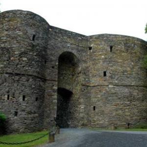 Chateau des Comtes de Salm a Salmchateau