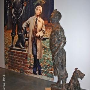Exposition  when Herge met Nat Neujean.
