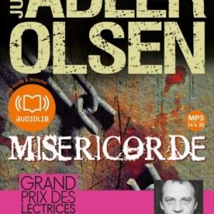 Misericorde de Jussi Adler Olsen  Audiolib.