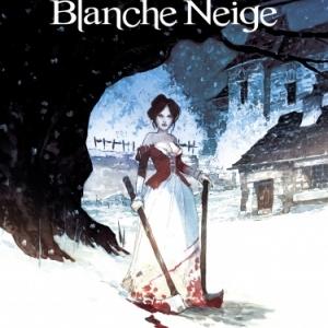 A l origine des contes  Blanche Neige de F. Meddour et Ph. Bonifay  Editions Glenat.