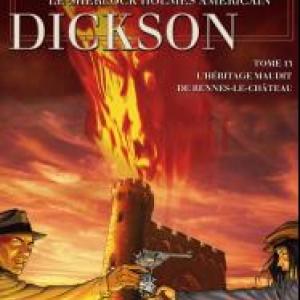 Harry Dickson (T13) – L'héritage maudit de Rennes-le-Château, Nolane & Astier – SoleilProduction.
