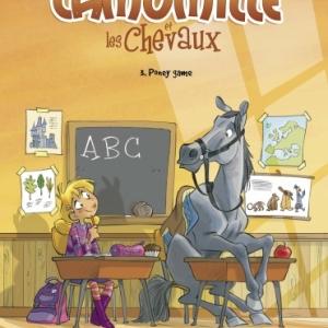 Camomille et les chevaux Tome 3, Poney game de Lili Mesange et Turconi Editions HugoetCie.