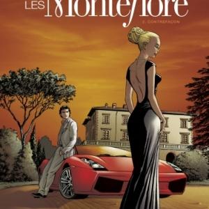 Les Montefiore Tome 2, Contrefacons de P. Del Vecchio, Ch. Bec et S. Betbeder   Glenat.