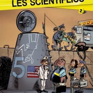 Les Scientiflics T2 de Carrere et Janssens  Bamboo Editions.