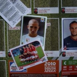 Panini et la Coupe du Monde de Football 2010.