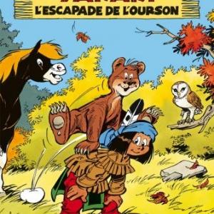 Yakari  (T35) – L'escapade de l'ourson, Job & Derib – Le Lombard.