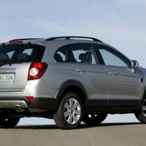 Chevrolet Captiva Diesel.