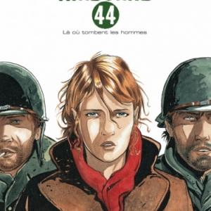 Airborne 44   Nouvelle edition 2014  Tome 1   La ou tombent les hommes de Ph. Jarbinet   Casterman.
