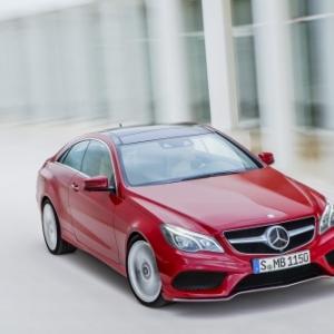 Mercedes E350 Coupe