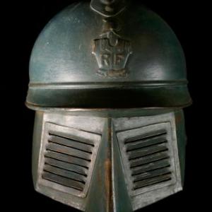 Casque Adrian 1915 avec visiere
