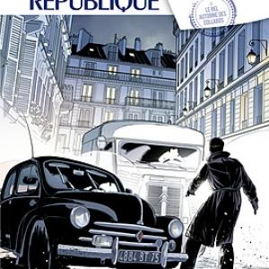 Les Mysteres de la IVe Republique de Buscaglia et Richelle   Editions Glenat