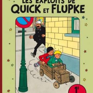 Quick et Flupke intégrale couleur T1) de Hergé  Casterman.