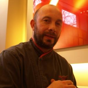 Restaurant Rouge Tomate Buxelles le chef