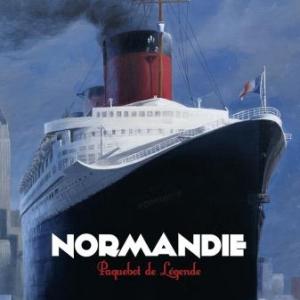 Normandie Paquebot de legende de PR St-Dizier  Glenat.