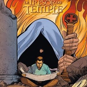 Le Trésor du Temple (T3) – Le rouleau 'argent, P. Makyo & L. Seigneuret – Glénat.
