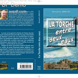 La Torche entre deux eaux de Bernard Larhant  Editions Alain Bargain.