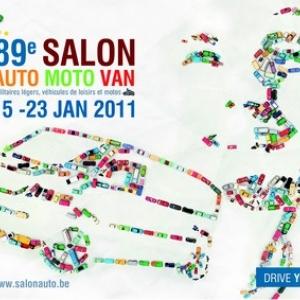 89eme Salon Automobile de Bruxelles 2011.