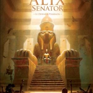 Alix senator Tome 2 – Le dernier Pharaon de Valerie Mangin et Thierry Demarez  Casterman.
