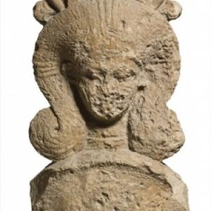 Chapiteau hathorique. Acropole d'Amathonte. Vers 500 av. J.C.