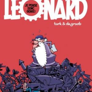 Léonard (T0) - Je pense donc Génie!, B. de Groot & Turk – Le Lombard.