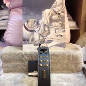 Collier grand chien Malucchi tailles: 3x50cm -> 149 euros   4x60cm  -> 189 euros