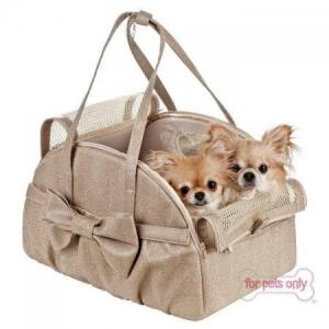 """"""" L'univers animalier """" à Hotton: For pets only : nouvelle collection sacs de transport"""