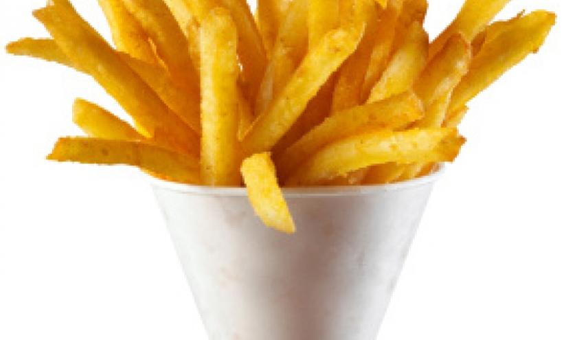 """cornet"" de frites"