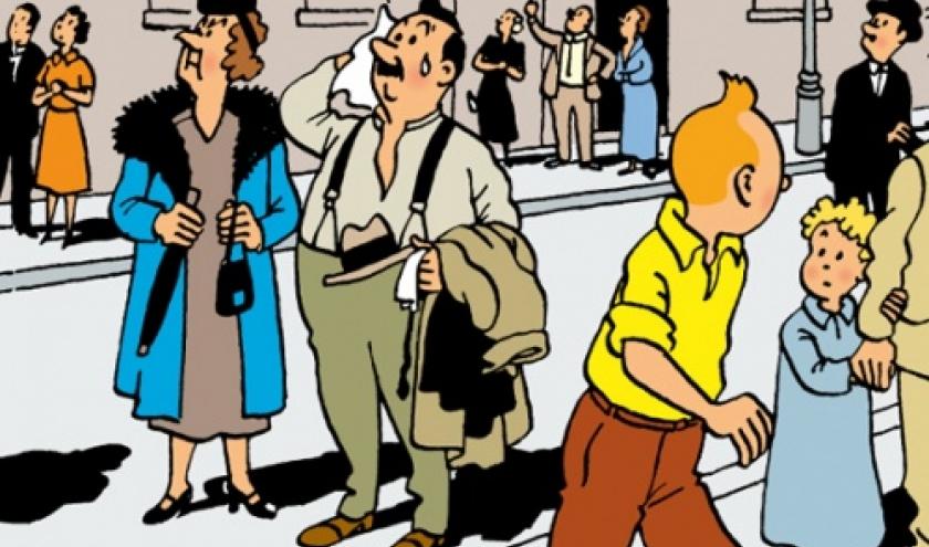 Les aventures de Tintin -L'Etoile mysterieuse, image sur Google