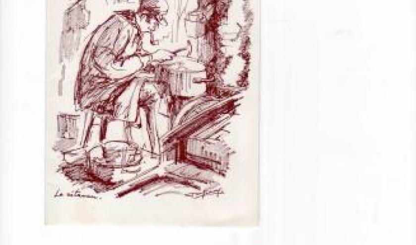 Un artisan d'autrefois: le retameur