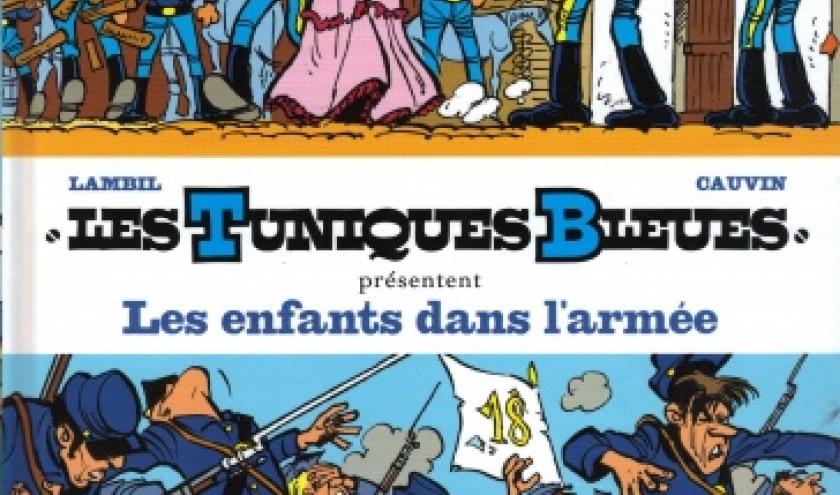 Les Tuniques Bleues, Les enfants dans l'armée, chez Dupiuis