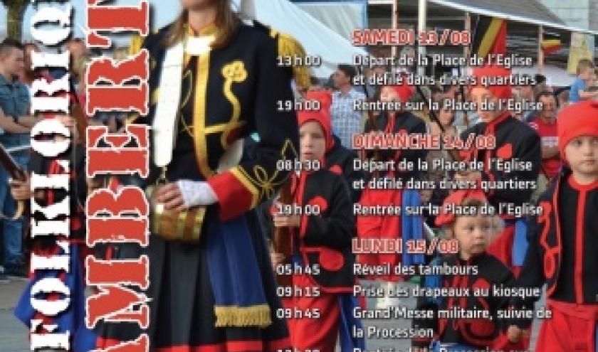 Marche folklorique Saint Lambert à Cerfontaine le 15 août 2016