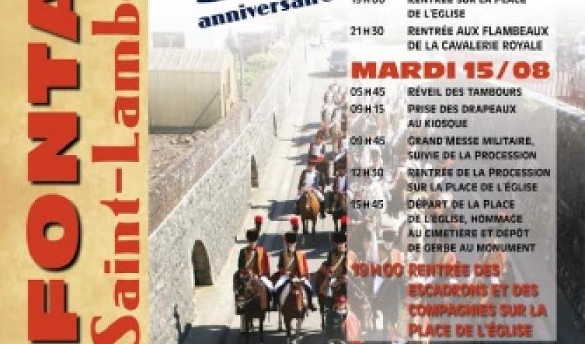 La Marche Saint Lambert le weekend du 15 août à Cerfontaine