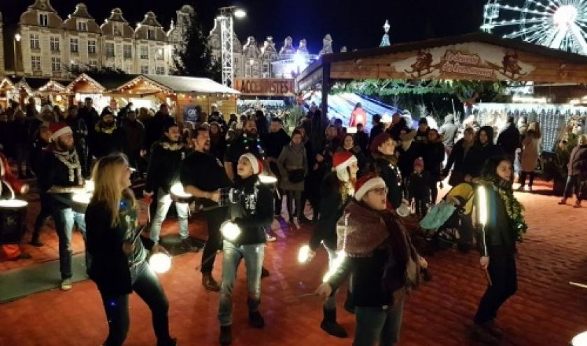 Le Marché de Noël d'Arras sort le grand jeu !