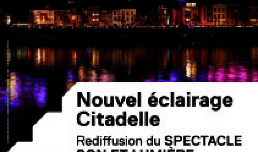 Ce 03 Mars, la Citadelle de Namur en Fête des Lumières, de 19 à 22h
