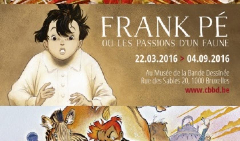 """Frank Pé, au """"Musée de la BD"""", jusqu'au 4 Septembre"""