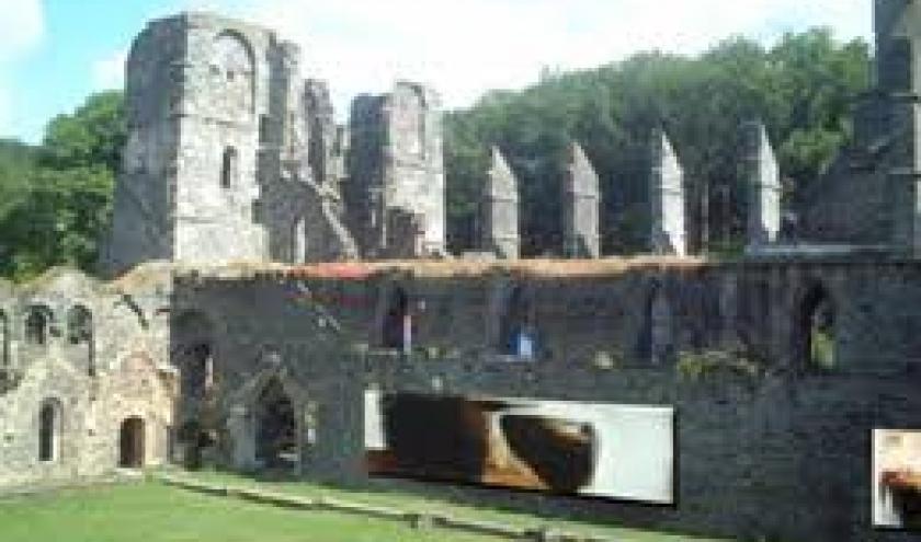 Oeuvres monumentales dans l Abbaye de Villers-la-Ville (2006) (c) Pierre Debatty