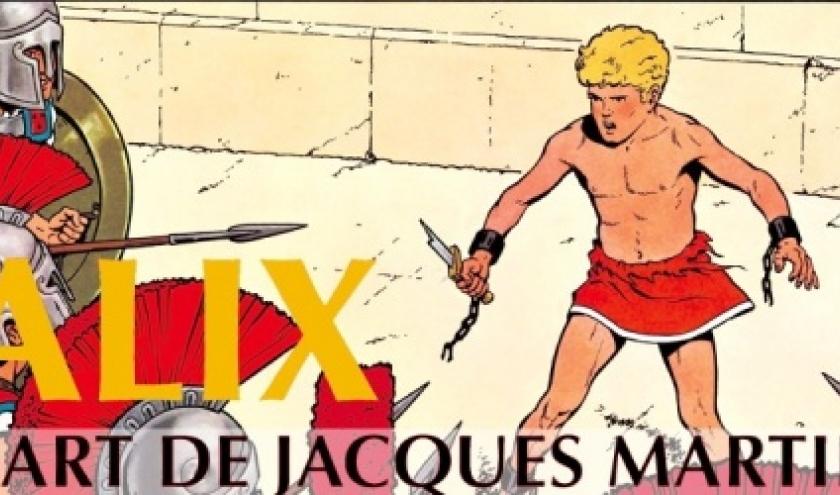"""""""Alix - L' Art de Jacques Martin"""", au """"Cinquantenaire"""", jusqu'au 06 Janvier"""
