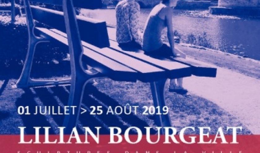 """""""Sculptures dans la Ville"""", à Namur : Lilian Bourgeat, jusqu'au 25 Août"""
