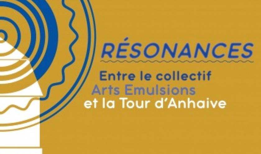 """""""Résonances"""", du Collectf """"Arts Emulsions"""", à la """"Tour d'Anhaive"""", à Jambes"""