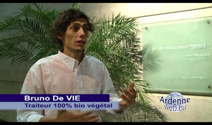 Bruno de Vie est un traiteur Français 100% Bio vegetal.