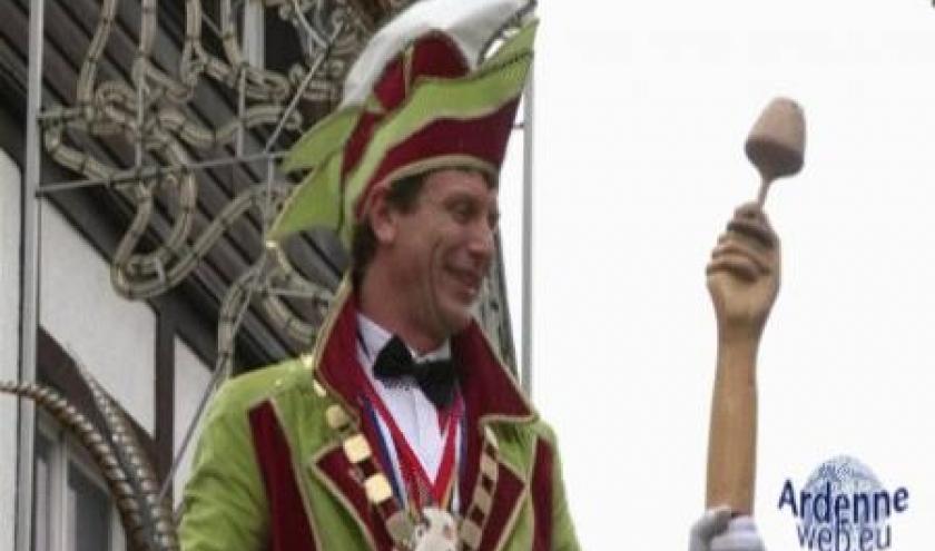 Le Prince Carnaval 2011 de La Roche-en-Ardennes