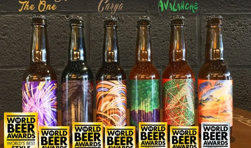 World Beer Awards  pour ATRIUM de Marche