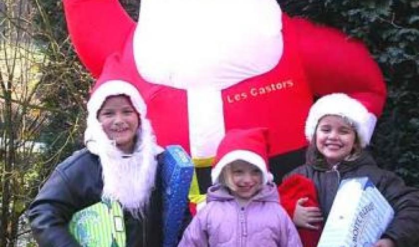 Marche de Noel  Ferme des Castors