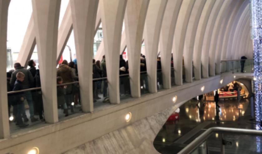 20.000 visiteurs ,exposition Toutankhamon. Liege-Guillemins